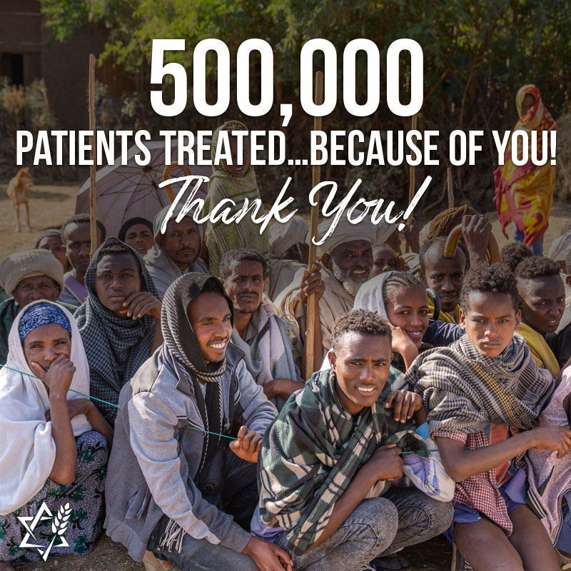 JVMI has treated its 500000th patient in its medical outreaches!