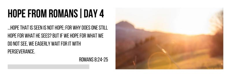 Hope From Romans | Day #4