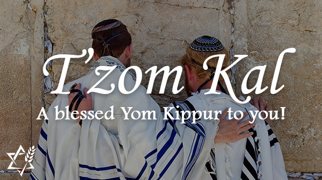 A blessed yom kippur to you jewish voice ministries international yom kippur greeting m4hsunfo