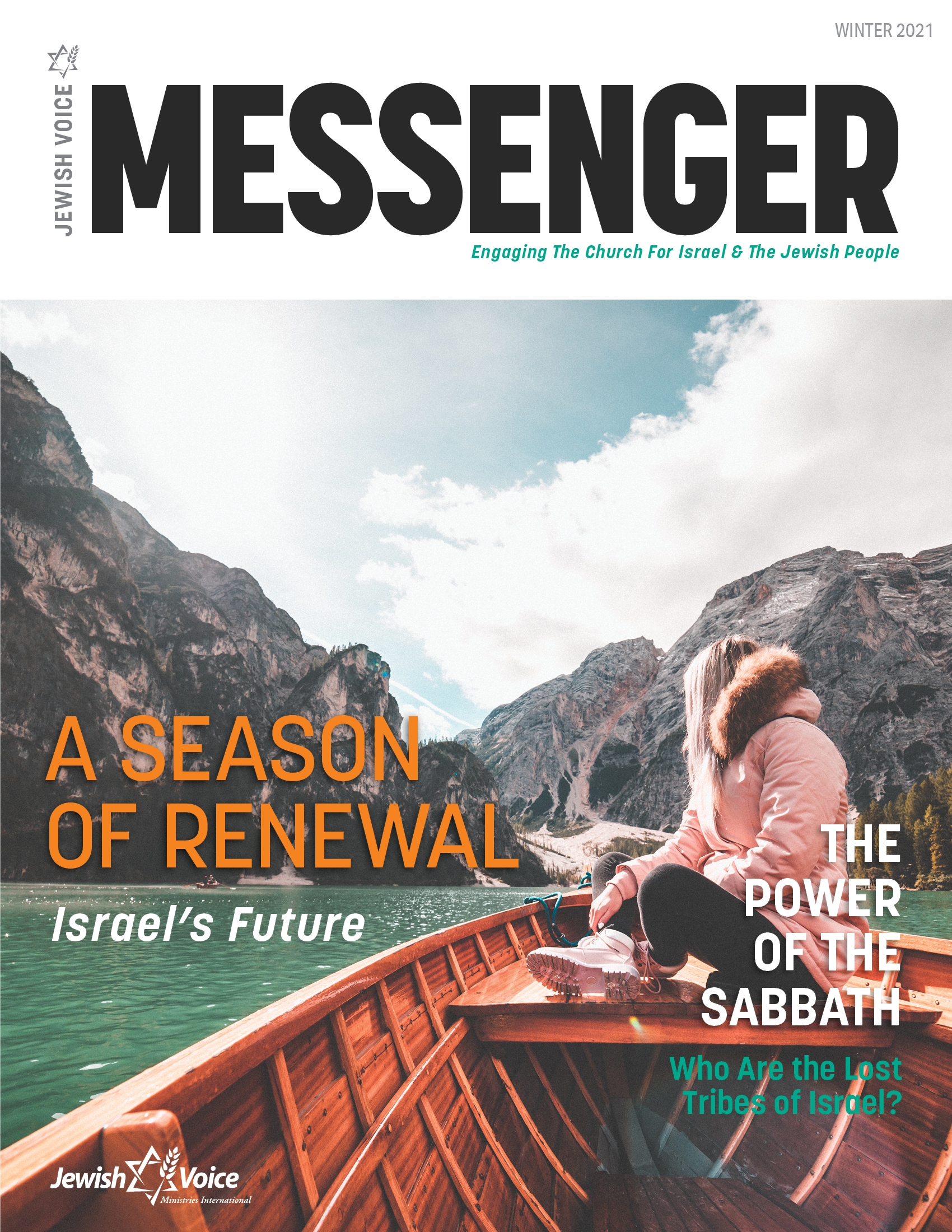 Jewish Voice Messenger - Winter 2021